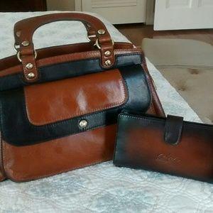 Ravenna Patricia Nash bag, with attachment for cro
